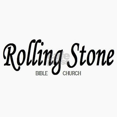 4165b0576c4 Rolling Stone Bible Church Trucker Hat by platinumcouch