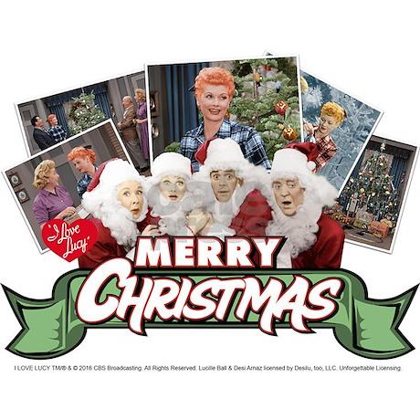 i love lucy christmas mug back back design - I Love Lucy Christmas