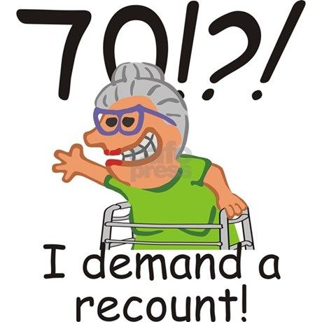 Recount 70th birthday funny old lady greeting card by sunnydaysdesign recount 70th birthday funny old lady greeting card recount 70th birthday funny old lady greeting card m4hsunfo