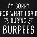 Burpees Tank Tops