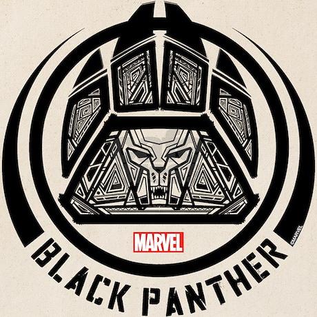 Black Panther Symbol Tote Bag By Blackpanthercomic