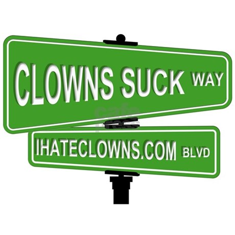 Why clowns suck