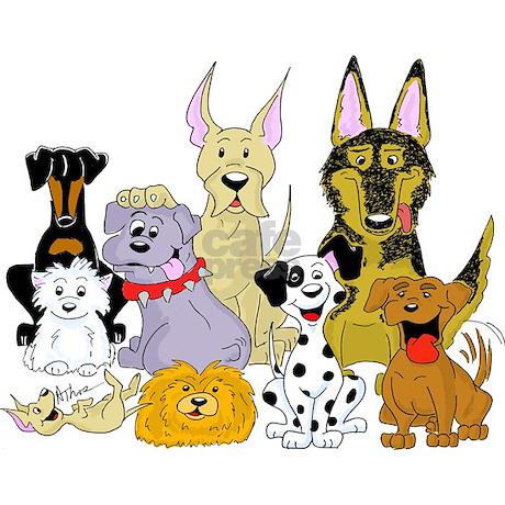 Image of: Beagle Cartoon Dog Pack Tile Coaster Favorite Cafepress Cartoon Dog Pack Tile Coaster By Beingbizarre
