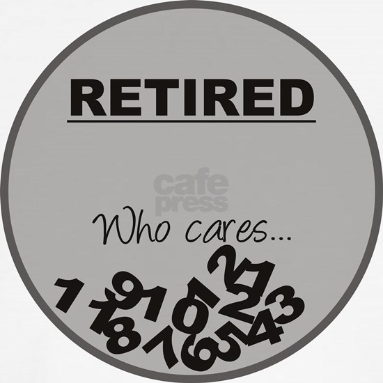 Funny Retirement Gift, Retired clock, Who Cares, W