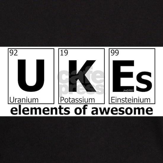 ukes elements of awesome white