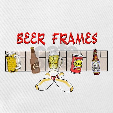 Beer Frames Baseball Cap by jqdesigns