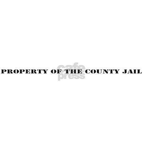 County Jail License Plate Frame by cloeyscloset