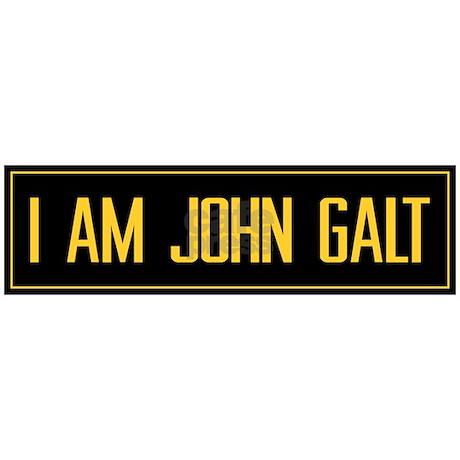 Quoti am john galtquot bumper sticker favorite