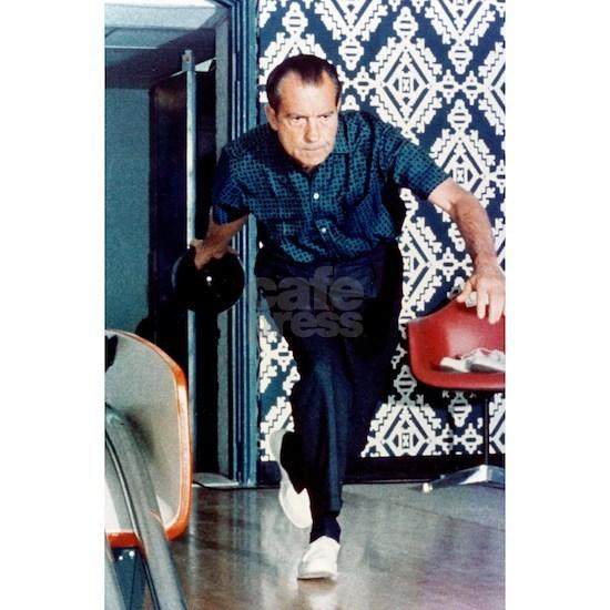 Nixon Bowling Poster