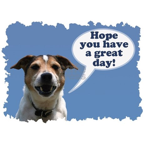 Happy Birthday Card Cheeky Jack Russell Greeting By Valentinodesign