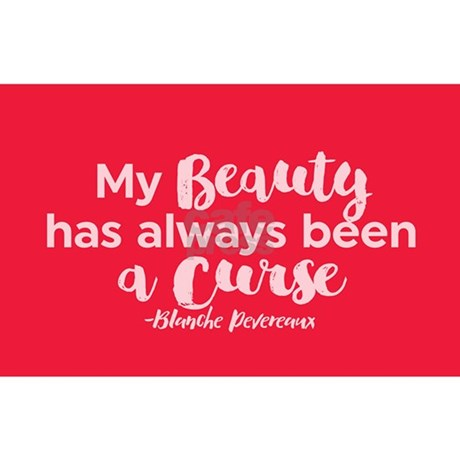 Gg blanche beauty curse sticker favorite