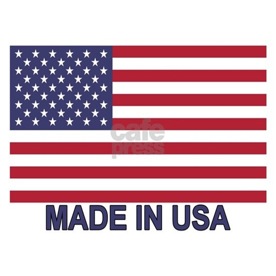 MADE IN USA (w/flag)