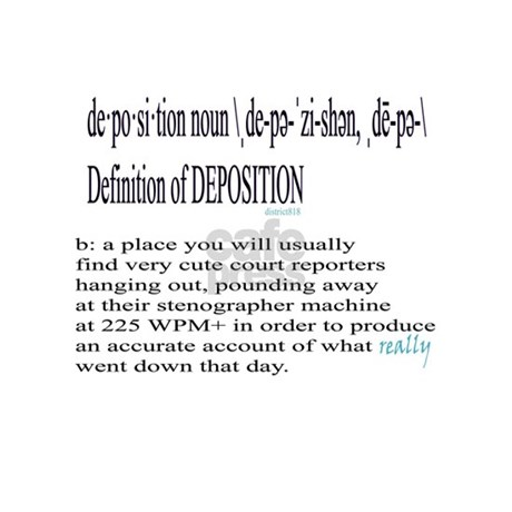 DEPOSITION DEFINITION Banner. Favorite