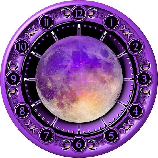 Clock of the Purple Moon