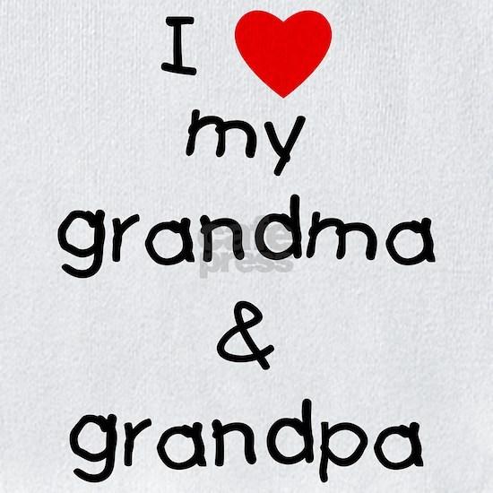 I love my grandma and grandpa