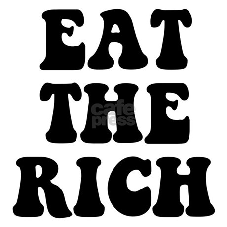 6320bd2e2f4 Eat The Rich Occupy Wall Street Protest Cap. Design is printed