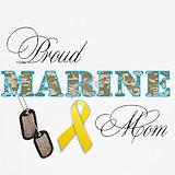 Proud marine mom Tank Tops