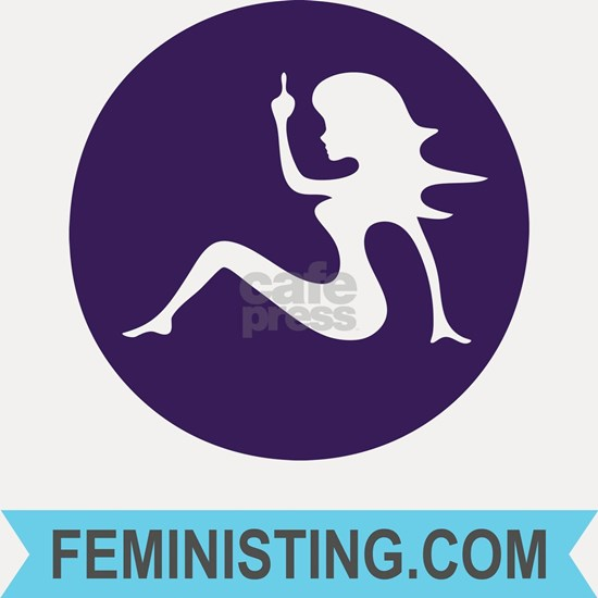 cafepressfeministinglogoandname