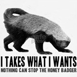 Honey badger Tank Tops