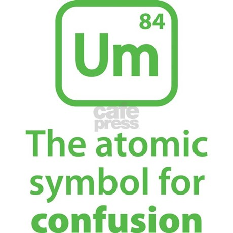 Symbol For Confusion Aluminum License Plate By Brightdesign