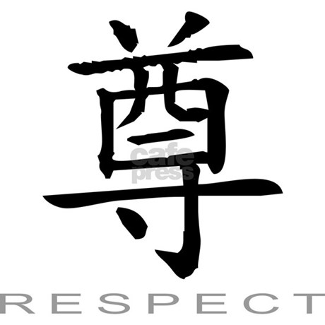 Chinese Symbol For Respect Mug By Exotictees