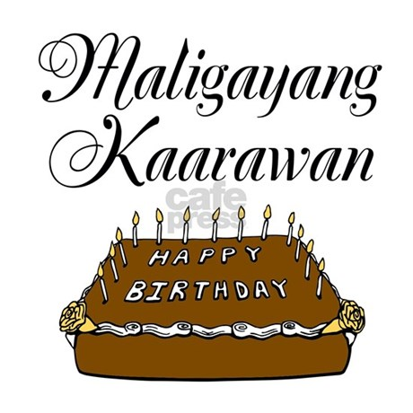 happy birthday tagalog Happy Birthday (Tagalog) Postcards (Package of 8) by SweetNothings3 happy birthday tagalog