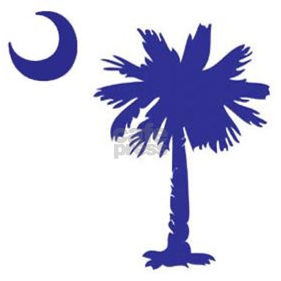 South Carolina Palm Tree State Flag