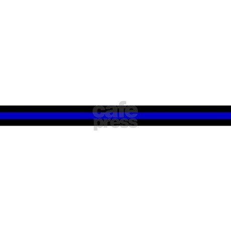 Thin Blue Line License Plate Frame by timscreativedesigns
