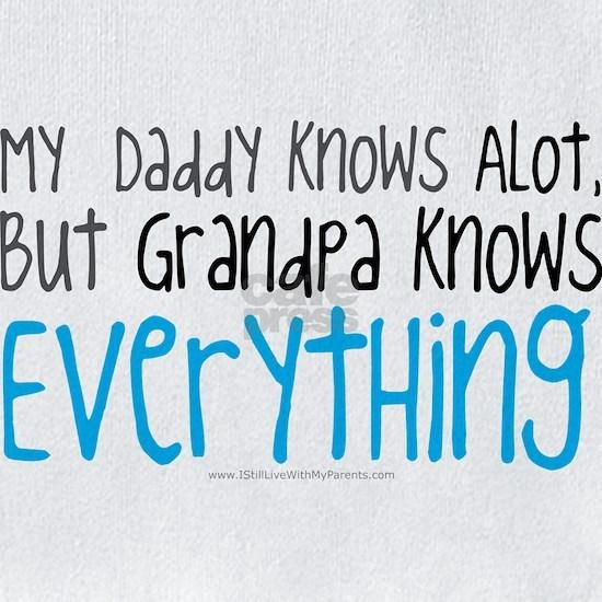 My Dad Knows ALot Blue Grandpa