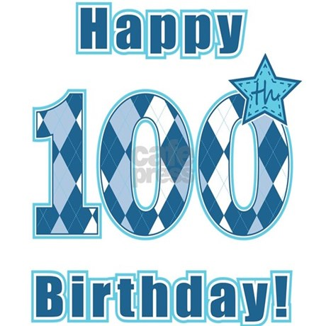 Happy 100th Birthday Banner Favorite