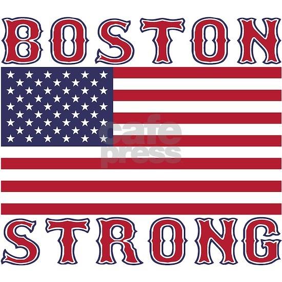 BOSTON STRONG U.S. Flag