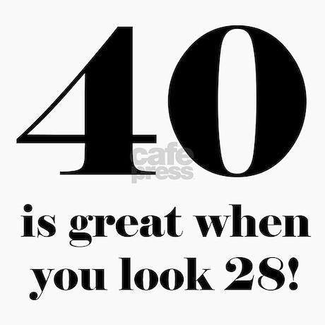40th Birthday Humor Greeting Cards Pk Of 10 By Birthdayhumor1