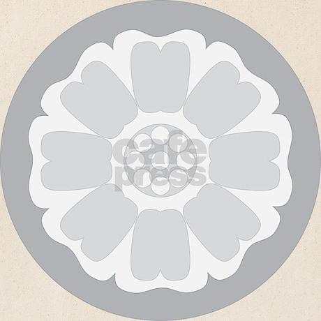 White Lotus Tile Tote Bag Favorite