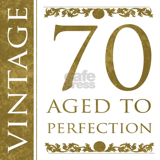 Fancy Vintage 70th Birthday