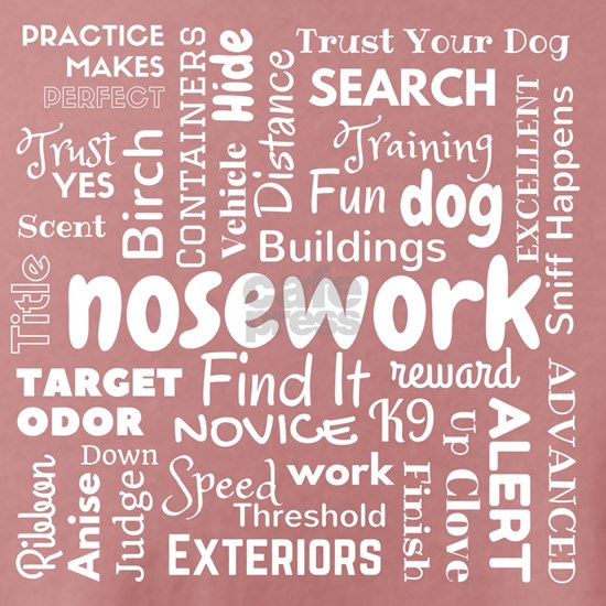 Fun with Nosework Words