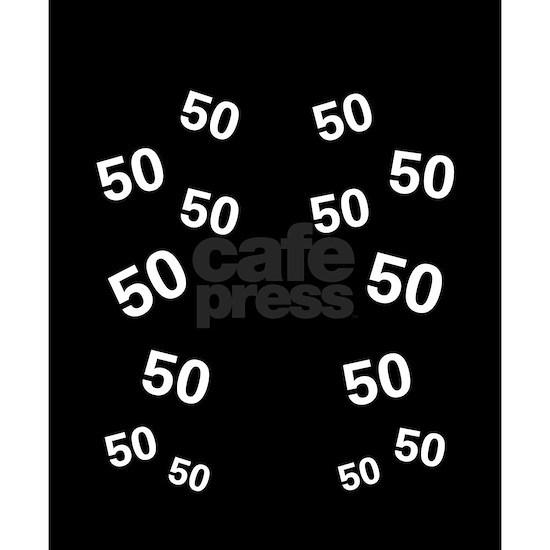 50 years old - Black 50th Birthday