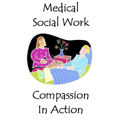 Medical Social Work Postcards Package Of 8 By Swgifts