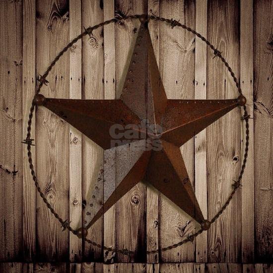 barnwood texas star