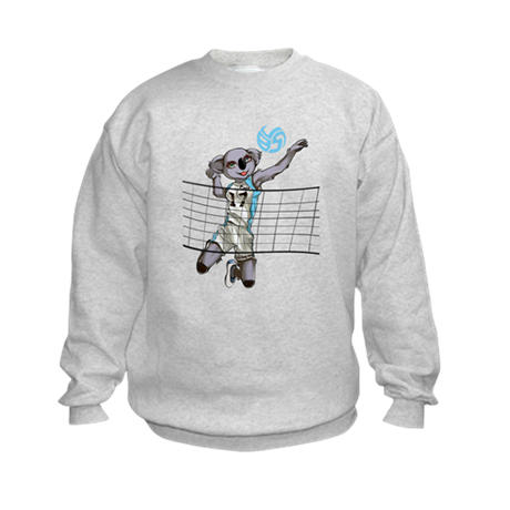 Coco the Volleybragswag Koala - Right S Sweatshirt