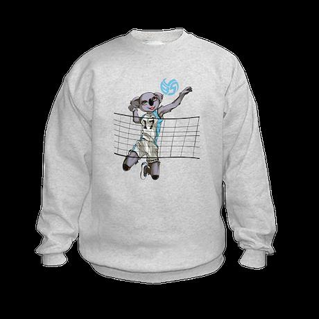 Coco the Volleybragswag Koala - Right S Sweatshirt