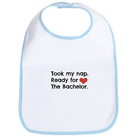 Naptime for the Bachelor Baby Bib